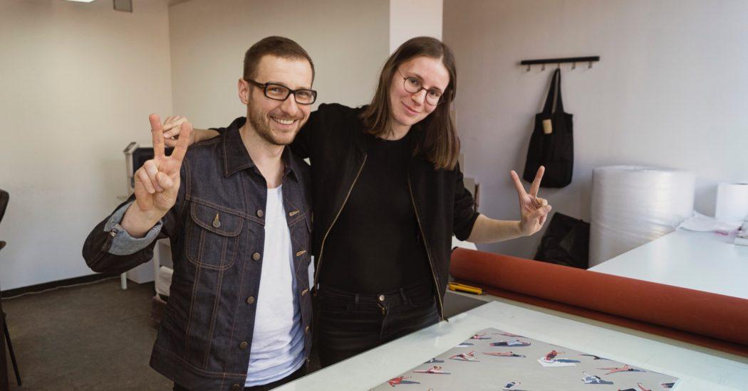 Bartosz Kosowski and Jola Bańkowska